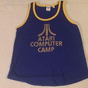 NWOT Atari computer camp tank top